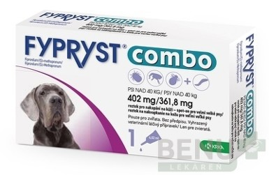 FYPRYST combo 402 mg/361,8 mg PSY NAD 40 KG 1x4,02ml