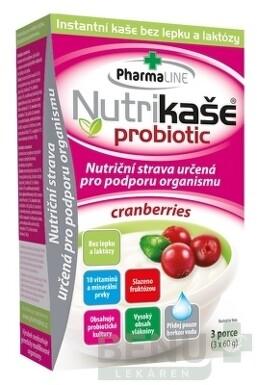 Nutrikaša probiotic - cranberries 3x60g