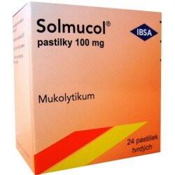 Solmucol pastilky 100 mg loz 24x100mg