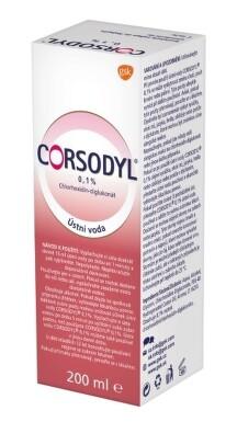 CORSODYL 0,1% sol ora 200ml