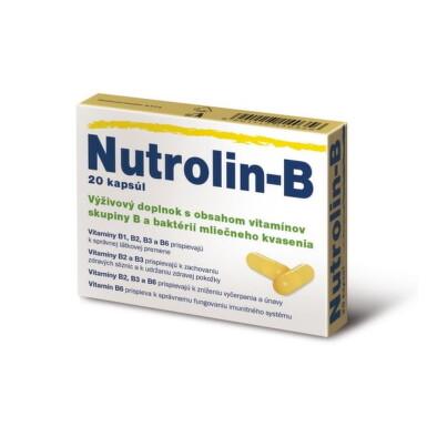 Cipla NUTROLIN B cps 1x20 ks cps 20