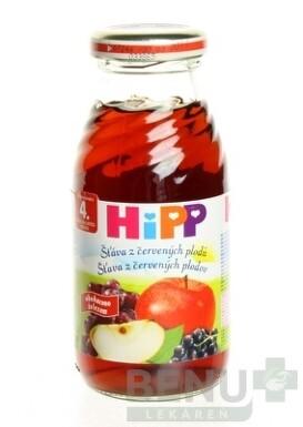 HiPP Šťava z červených plodov 1x200 ml 200ml