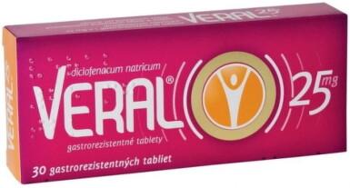 VERAL 25 mg tbl ent 30x25mg