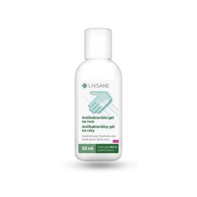 LIVSANE Antibakteriálny gél na ruky 50 ml