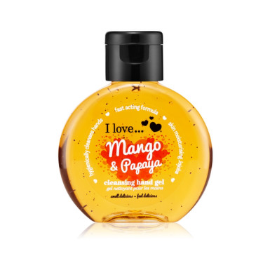 I LOVE Čistiaci gél na ruky Mango a papaya 65 ml