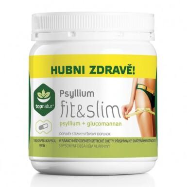 TOPNATUR Psyllium fit & slim 180 kapsúl