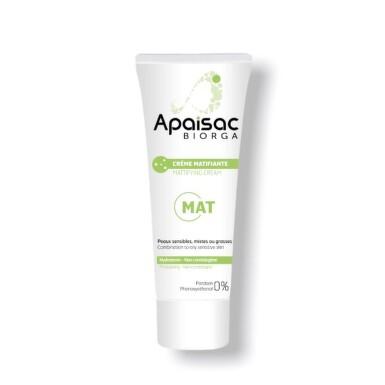 APAISAC BIORGA Zmatňujúci krém, zelená rada 40 ml