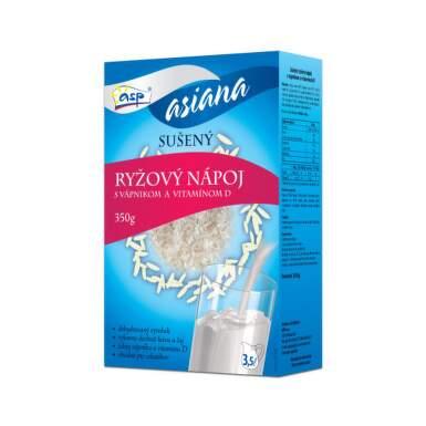 ASP Ryžový nápoj s vápnikom a vitamínom D 350 g