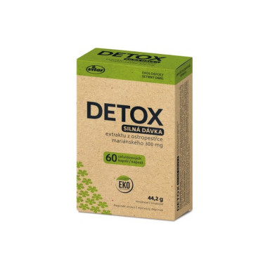 VITAR Detox silná dávka EKO 60 kapsúl