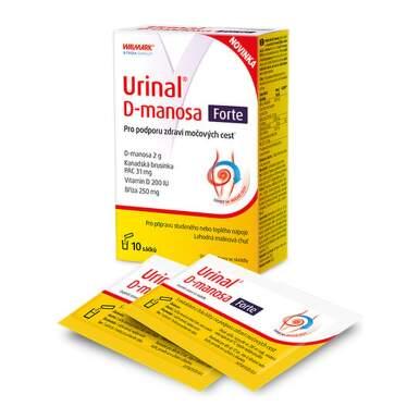 WALMARK Urinal d-manosa forte vrecúška 10 kusov