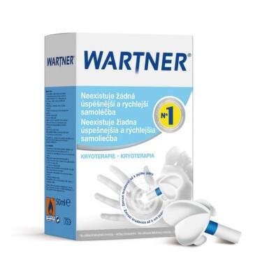 WARTNER Prípravok na odstraňovanie bradavíc 50 ml