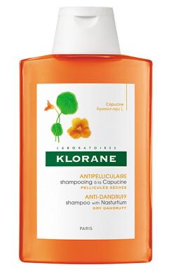 KLORANE Šampón s výťažkom z kapucínky, suché lupiny 200 ml 200ml