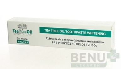 Dr. Müller Tea Tree Oil ZUBNÁ PASTA BIELIACA 75ml