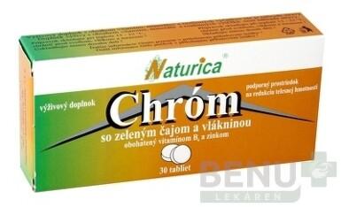 Naturica CHROM so zeleným čajom a vlákninou tbl 30