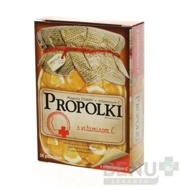 PROPOLKI - PROPOLIS+VIT.C 16ks
