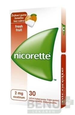 Nicorette Freshfruit Gum 2 mg gum med 30x2mg