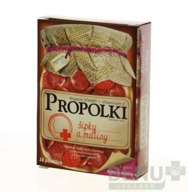 PROPOLKI - SIPKY A MALINY 16ks