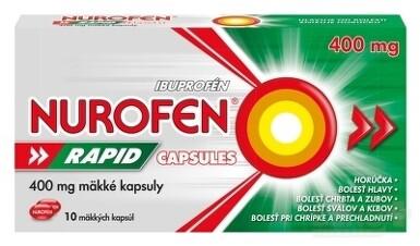 NUROFEN Rapid 400 mg Capsules cps mol 10x400mg