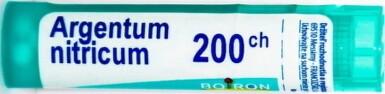 ARGENTUM NITRICUM gra 1x4 g (200CH)