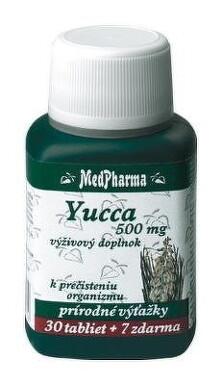 MedPharma YUCCA 500MG tbl 30+7 zdarma