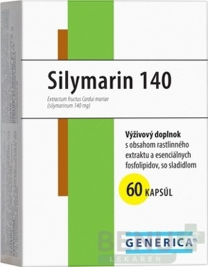 GENERICA Silymarin 140 cps 60