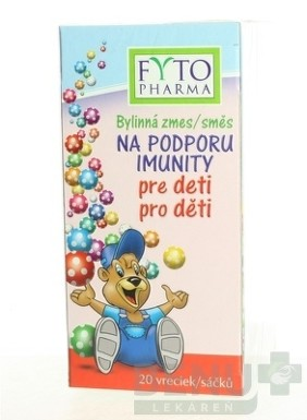 FYTO Bylinná zmes NA PODPORU IMUNITY pre deti 20x1,5g