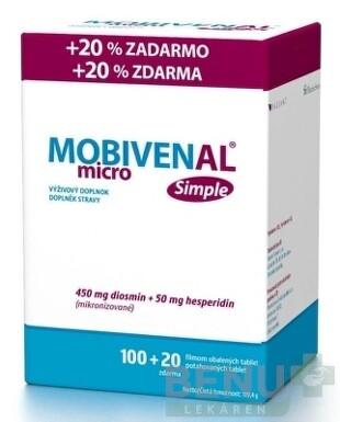 MOBIVENAL micro Simple tbl flm 100+20 zdarma 2