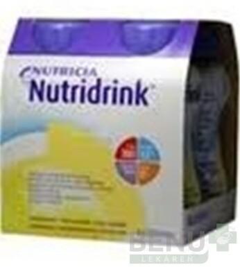 NUTRIDRINK vanilková príchuť 4x200 ml sol 4x200ml