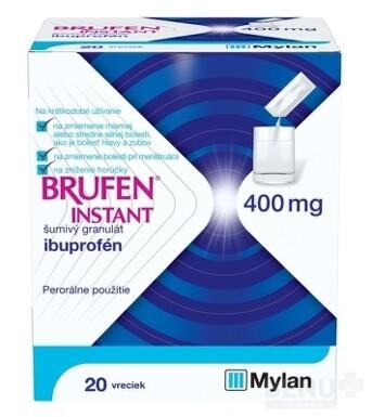 BRUFEN INSTANT 400 mg šumivý granulát gra eff 20x400mg