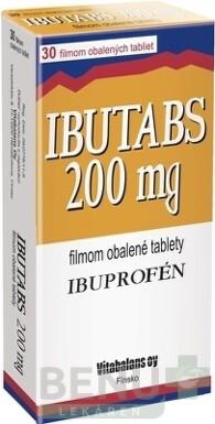IBUTABS 200 mg 1x30 ks tbl flm 30x200mg