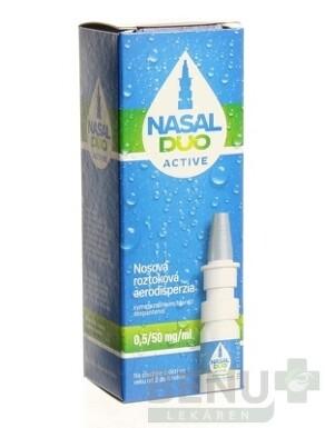 NASAL DUO ACTIVE 0,5/50 mg/ml aer nao 10ml