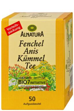 Alnatura Čaj z feniklu, anízu a rasce 125g vrecka