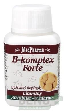 MedPharma B-komplex Forte tbl 30+7 zdarma 2
