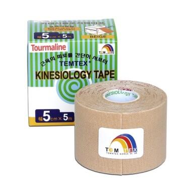 TEMTEX KINESOLOGY TAPE TOURMALINE 1ks (5cmx5cm)