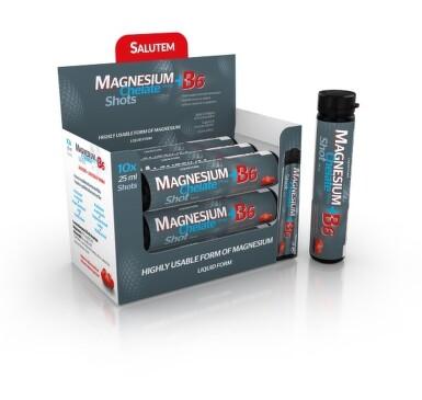MAGNESIUM Chelate + B6 cherry SALUTEM 10x25ml