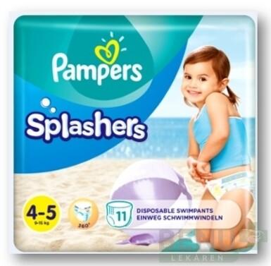 PAMPERS SPLASH MAXI 4-5 11ks