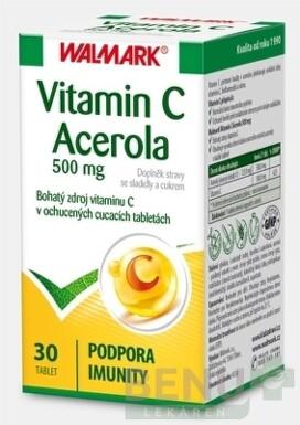 WALMARK Vitamin C Acerola 500 mg tbl 30