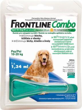 FRONTLINE Combo Spot-On pre psy M sol 1x1,34ml