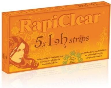 RapiClear 5 x Lh strips 1ks