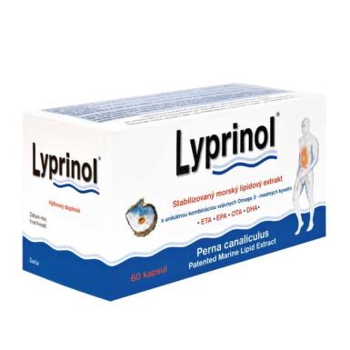 LYPRINOL Omega 3 (ETA, EPA, OTA, DHA) 60 cps.