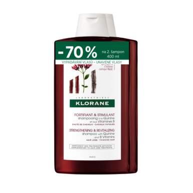 KLORANE Šampón s chinínom 2 x 400 ml