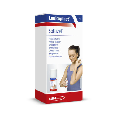 LEUKOPLAST Softivel spray plaster náplasť v spreji 30 ml