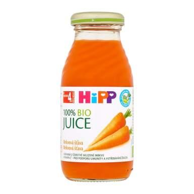 HiPP 100 % BIO Mrkvová šťava 200 ml