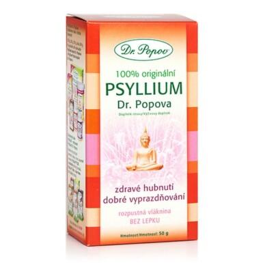 DR. POPOV Psyllium vláknina rozpustná 50 g