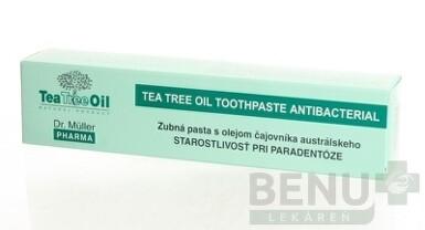 Dr. Müller Tea Tree Oil ZUBNÁ PASTA PARADENTÓZA 75ml