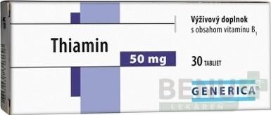 GENERICA Thiamin 50 mg tbl 30
