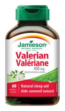 JAMIESON Valeriána 400 mg 60 cps. tbl 60