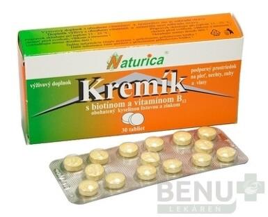 Naturica KREMÍK s biotínom a vitamínom B12 tbl 30