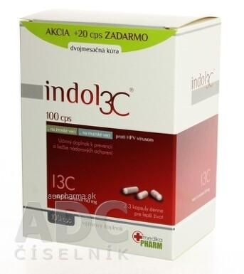 INDOL3C cps 100+20zdarma