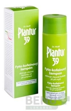 Plantur 39 Fyto-kofeinový šampón pre jemné vlasy 250ml 2